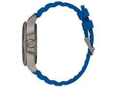 Relógio Victorinox I.N.O.X. Titanium Cinza Pulseira Azul - 3