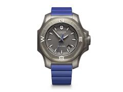 Relógio Victorinox I.N.O.X. Titanium Cinza Pulseira Azul - 1