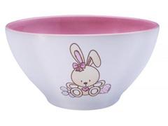 Jogo Porcelana Infantil Tramontina Le Petit Rosa 2 Peças - 1