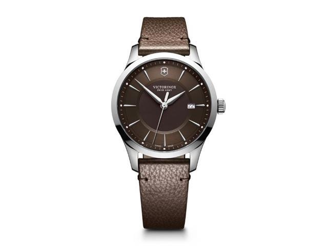 Relógio Victorinox Alliance com Pulseira em Couro Marrom