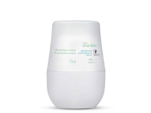Desodorante Antitranspirante Roll-on Natura Erva Doce 70ml