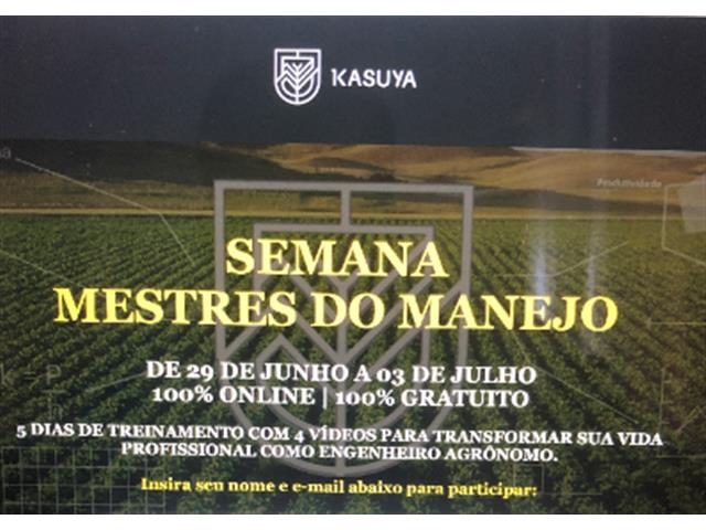 Curso on-line Mestres do Manejo - Kasuya