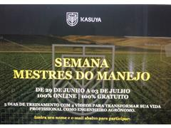 Curso on-line Mestres do Manejo - Kasuya  - 0