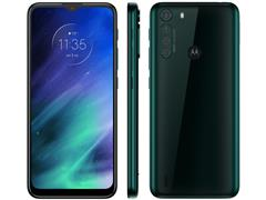 "Smartphone Motorola One Fusion 4G 64GB 6.5"" QuadCâm 48+8+5+2MP Verde"