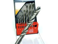 Jogo de Brocas Helicoidal Schulz para Metal com 8 Peças - 1