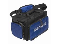 Bolsa de Pesca Shimano Baltica para Apetrechos Preto e Azul Tam M - 1