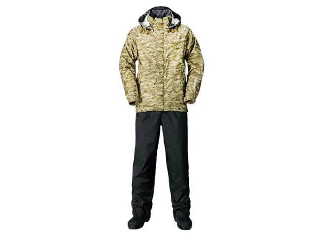 Conjunto Jaqueta e Calça Impermeável Shimano Camuflado P