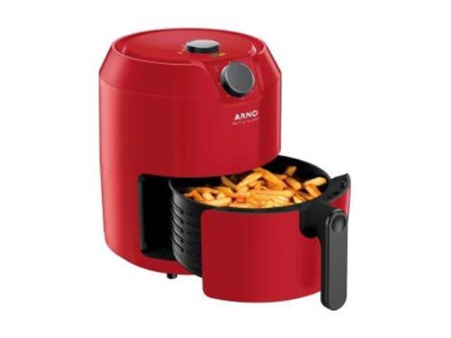 Fritadeira Elétrica Sem Óleo Arno Airfry Super Vermelha