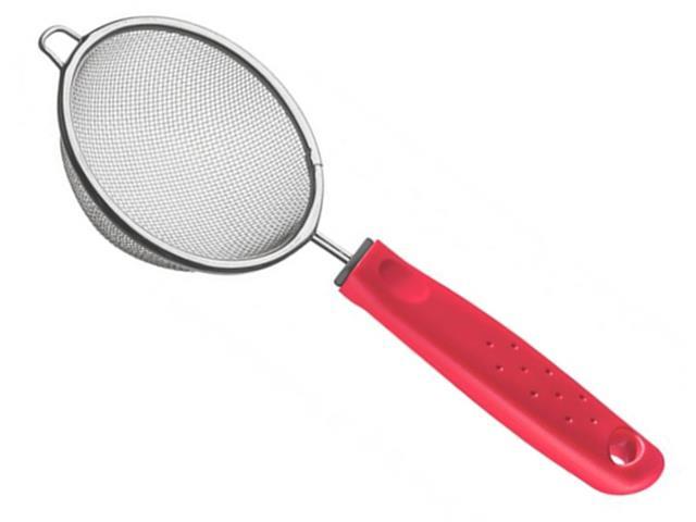 Peneira Tramontina Utilita Vermelha 17cm