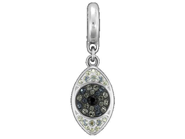 Becharmed Olho Grego Cinza decorado com cristais da Swarovski®