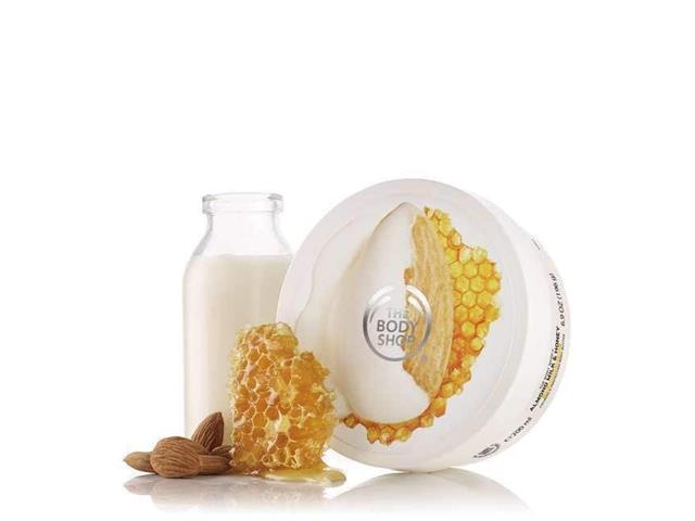 Manteiga Corporal The Body Shop Leite de Amêndoas e Mel 200ML