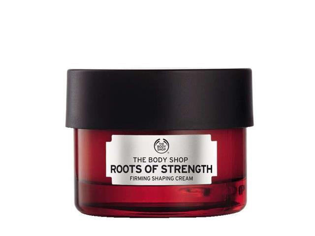 Creme Firmador Facial Te Body Shop Roots Of Strength 50ML