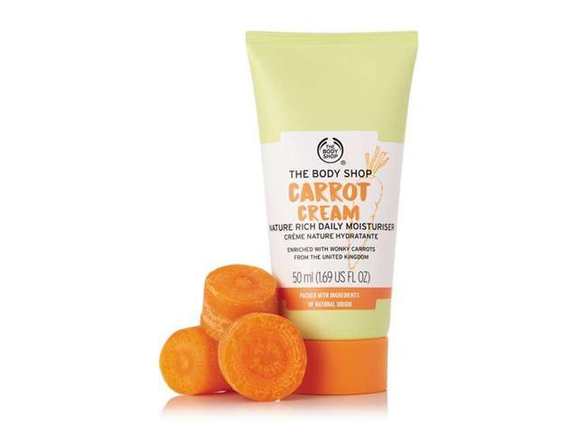 Loção Hidratante Facial The Body Shop Cenoura 50ML