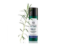 Loção Hidratante Noturna The Body Shop Tea Tree 30ML