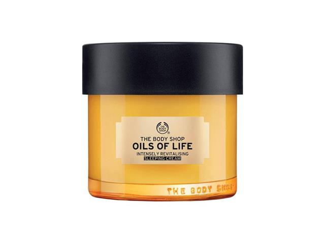 Creme Noturno Revitalizante Intensivo The Body Shop Oils Of Life 80ML