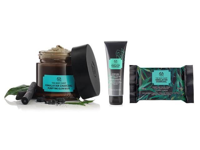Kit The Body Shop Carvão do Himalaia