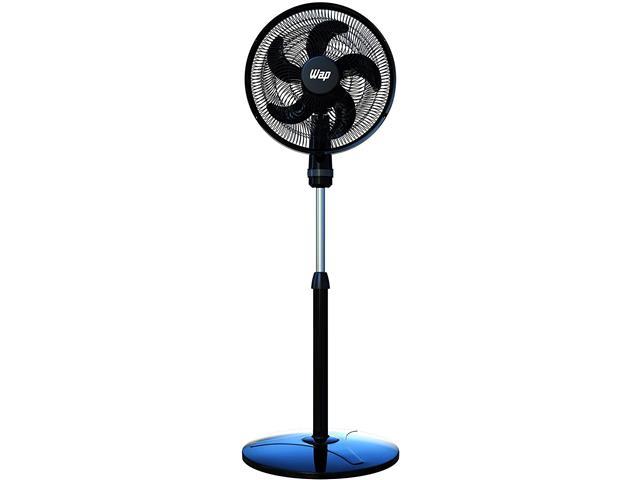 Ventilador de Coluna WAP Rajada Turbo W130 50cm 5 Pás Preto
