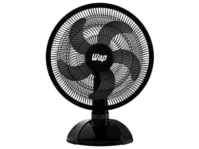 Ventilador de Mesa WAP Rajada Turbo W130 50cm 5 Pás Preto