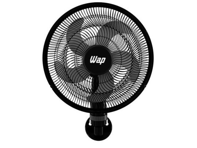 Ventilador de Parede WAP Rajada Turbo W130 50cm 5 Pás Preto