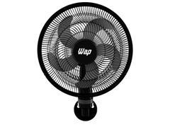 Ventilador de Parede WAP Rajada Turbo W130 50cm 5 Pás Preto - 0