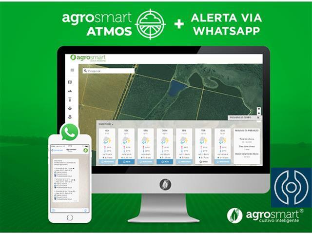 Agrosmart ATMOS - Previsão do Tempo + Previsão do Tempo via WhatsApp