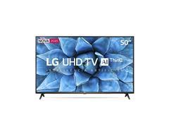"Smart TV LED 50"" LG UHD 4K ThinQ AI TV HDR webOS 5.0 Wi-Fi 3HDMI 2USB"