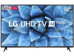 "Smart TV LED 50"" LG UHD 4K ThinQ AI TV HDR webOS 5.0 Wi-Fi 3HDMI 2USB - 0"