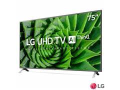 """Smart TV LED 75"""" LG UHD 4K ThinQ AI TV HDR Ativo webOS 5.0 4HDMI 2USB - 2"""
