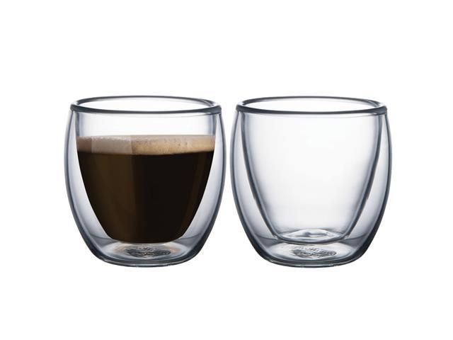 Conjunto de Xícaras para Café em Vidro Tramontina 2 Peças