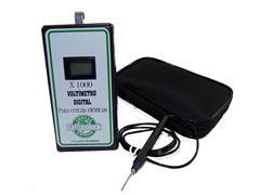 Voltímetro Digital Safrashock + Bolsa para Transportes - 0