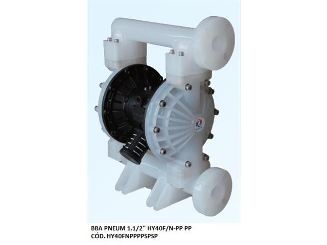 "Bomba de Diafragma Pneumática Vallair Airfluid 1.1/2"" HY40F/N-PP PP"