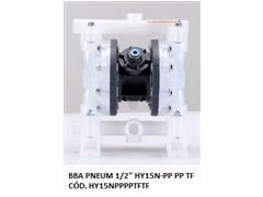 "Bomba de Diafragma Pneumática Vallair Airfluid 1/2"" HY15N-PP PP TF"