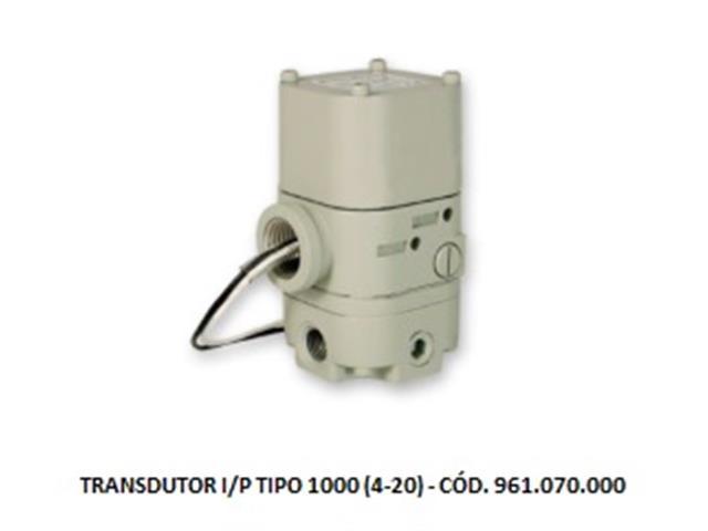 Transdutores Eletropneumáticos Vallair Airfluid I/P TIPO 1000 (4-20)