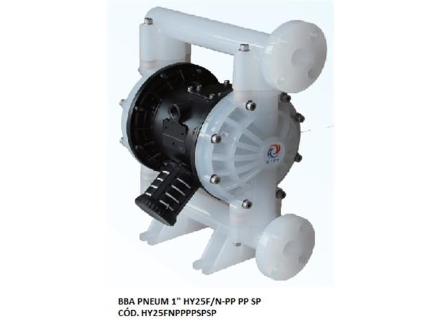 "Bomba de Diafragma Pneumática Vallair Airfluid 1"" HY25F/N-PP PP SP"