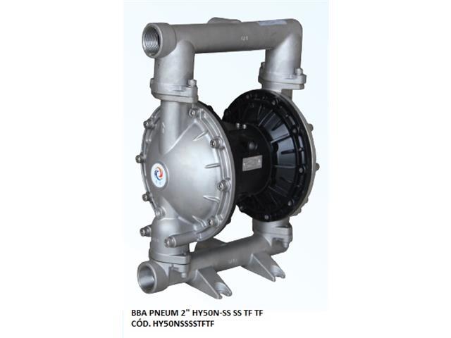 "Bomba de Diafragma Pneumática Vallair Airfluid 2"" HY50N-SS SS TF TF"