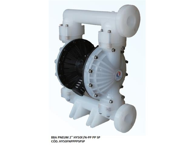 "Bomba de Diafragma Pneumática Vallair Airfluid 2"" HY50F/N-PP PP SP"