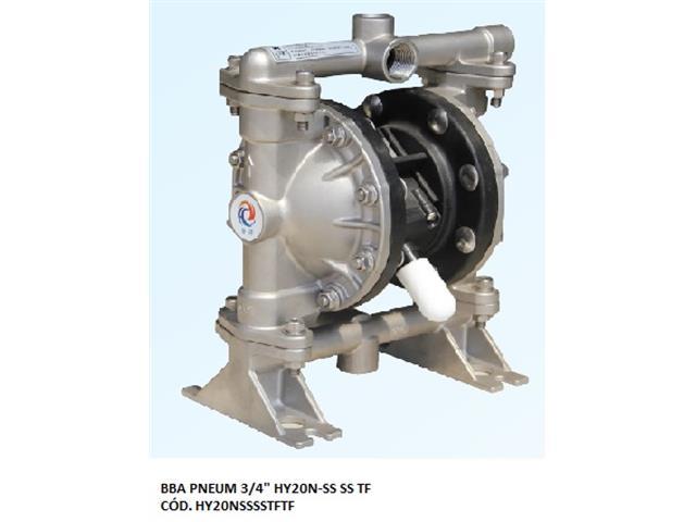 "Bomba de Diafragma Pneumática Vallair Airfluid 3/4"" HY20N-SS SS TF"