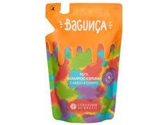 Refil Shampoo Espuma Cabelo e Corpo L'Occitane au Brésil Bagunça 230ML - 0