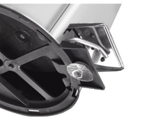Lixeira com Pedal Tramontina Aço Inox 5 Litros - 2