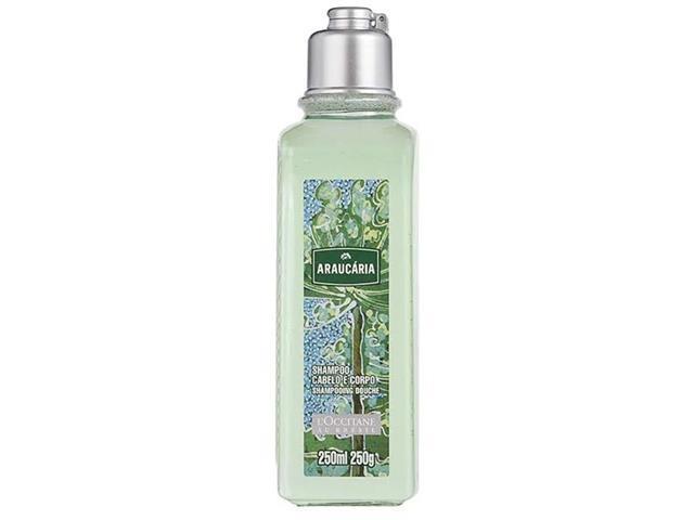 Shampoo Cabelo e Corpo L'Occitane au Brésil Araucária 250ML