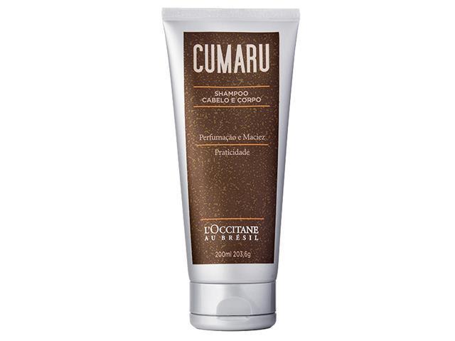 Shampoo Cabelo e Corpo L'Occitane au Brésil Cumaru 200ML