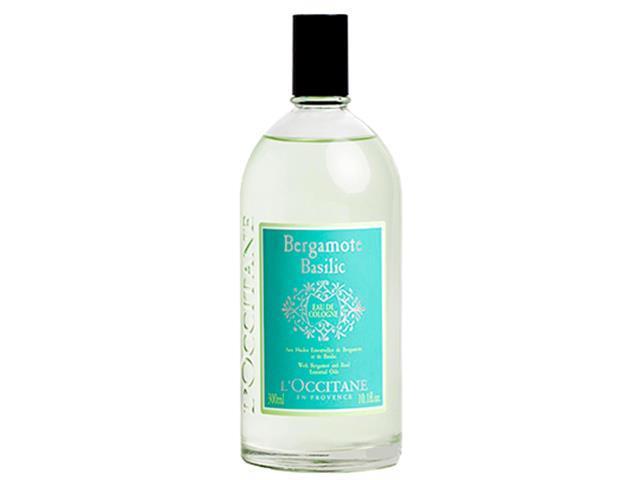 Colônia Desodorante L'Occitane en Provence Bergamota e Basílico 300ML