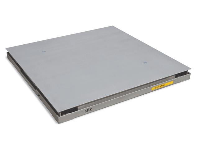 Balança de Piso Portátil Toledo Prix 2180 1,20 x 1,20 Inox 600 Kg