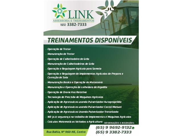 Treinamentos de mecanização agrícola - LINK