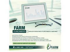 FARM Planejamento – Alimentação automática e simulador de IR