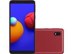 """Smartphone Samsung Galaxy A01 Core 32GB Duos Tela 5.3""""Câm 8MP Vermelho"""