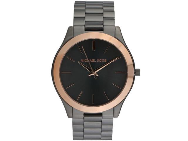 Relógio Michael Kors Essential Masculino MK8576/5PN Grafite com Rosé