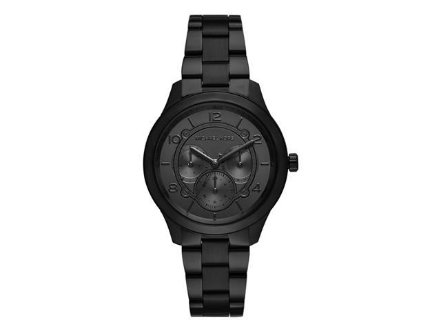 Relógio Michael Kors Essential Feminino MK6608/1PN Runway Preto