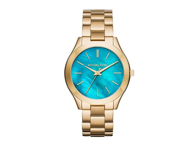 Relógio Michael Kors Essential Feminino MK3492/4VN Runway Dourado