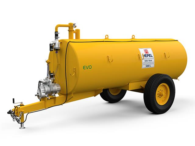 Distribuidor de Adubo Orgânico Líquido MEPEL Bomba a Vácuo 5000 Litros